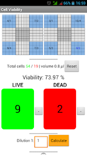 Cells Calculator - screenshot thumbnail