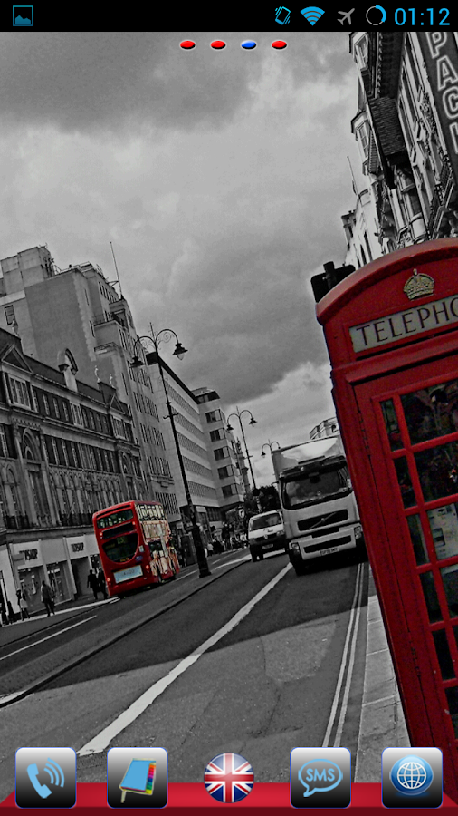 London Theme GO Launcher EX - screenshot