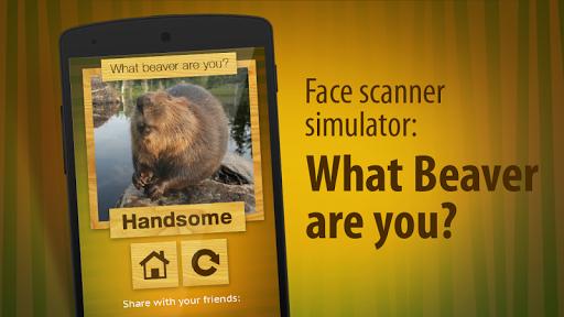 脸部扫描仪:什么海狸