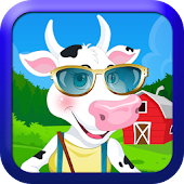 Dress Up Pets-Cow