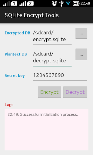 【免費工具App】SQLite Encrypt Tools-APP點子