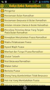 Buku Saku Ramadhan - screenshot thumbnail