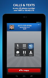 Talkatone free calls & texting - screenshot thumbnail