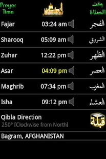 Prayer Time & Qibla (Widget) Screenshot 9