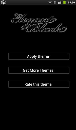 Elegant Black Keyboard
