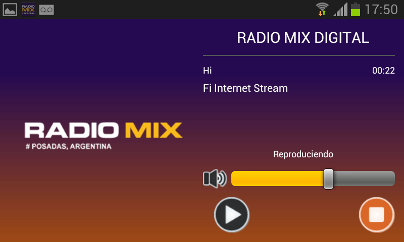 Radio Mix Digital- screenshot