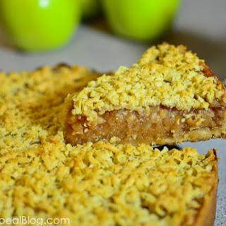 Szarlotka or Traditional Polish Apple Pie, reduced sugar