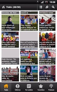 Real Murcia News - screenshot thumbnail