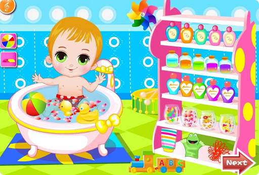 Happy Baby Bathing Games