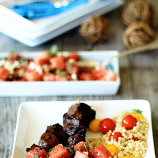 Watermelon, Feta, and Mint Salad