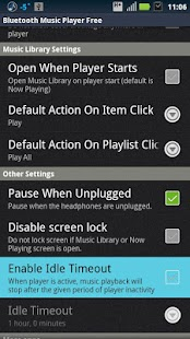 Bluetooth Music Player Free - screenshot thumbnail