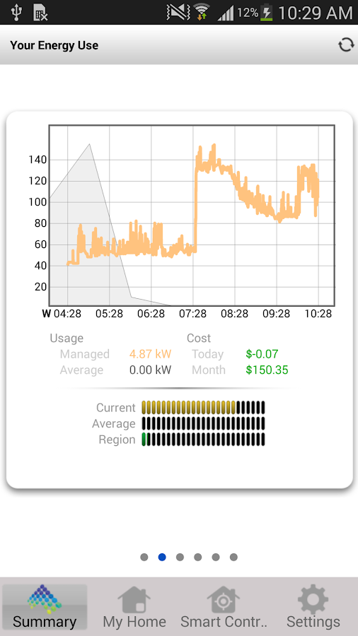 myHomeEnergy - screenshot