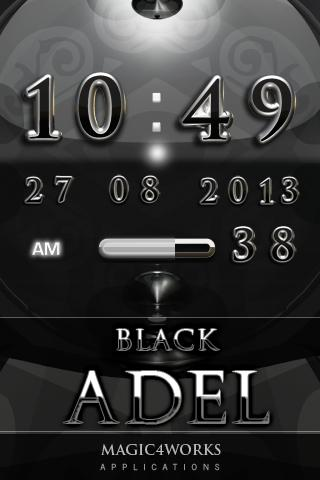 Adel Digital Clock Widget