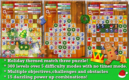 Holiday Drops - Match 3 puzzle