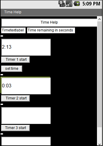 Time Help