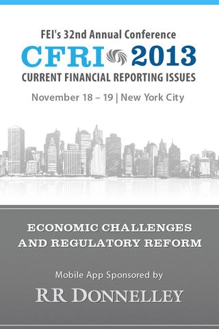 Financial Executives CFRI 2013