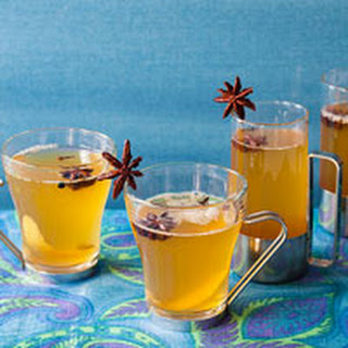 Spiced Mulled White Wine.