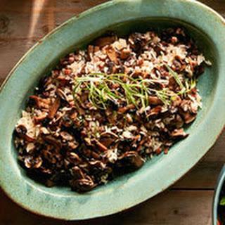 Herbed Mushroom & Rice Stuffing.