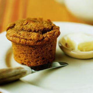 Pumpkin Cornmeal Muffins.