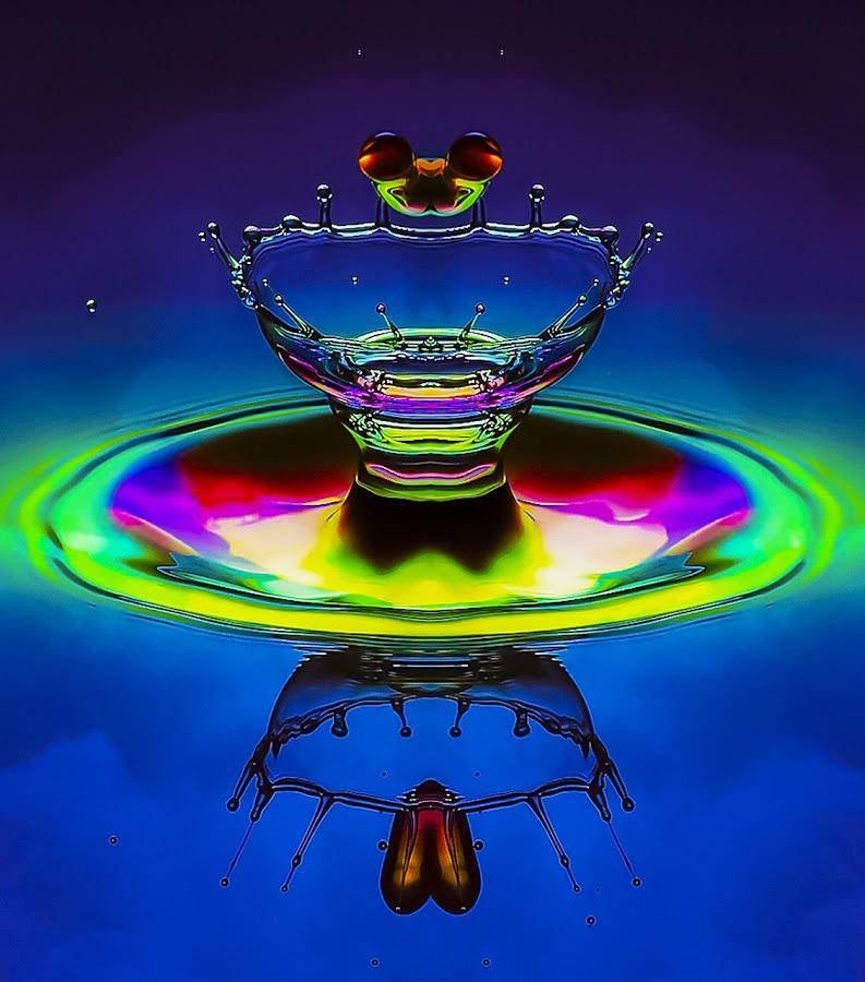 Over the Rainbow by Chandra Irahadi - Abstract Water Drops & Splashes (  )