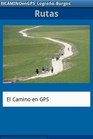 ElCaminoenGPS_Logroño-Burgos - screenshot