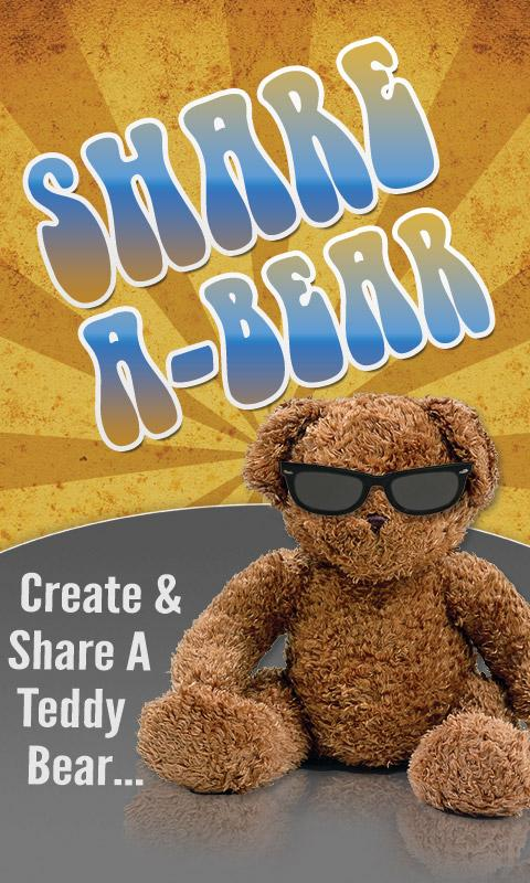 Share A Bear Greeting Cards- screenshot