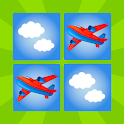 Kids Memory Game Planes icon