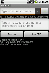 Group SMS & Scheduler- screenshot thumbnail