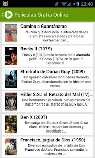 Free Spanish Movies Online - screenshot thumbnail