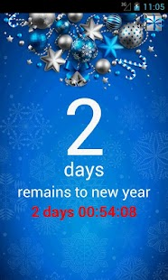 New Year Countdown Widget Lite - screenshot thumbnail