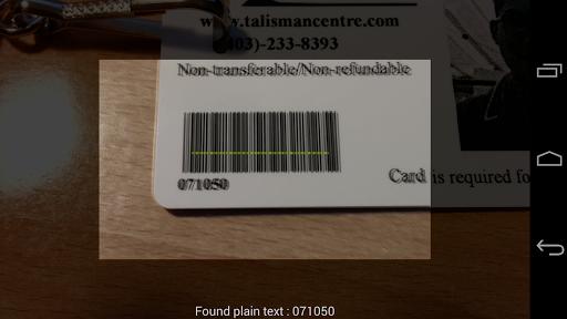 Pocket Barcode