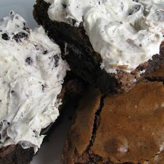 Cookies and Cream Brownies.