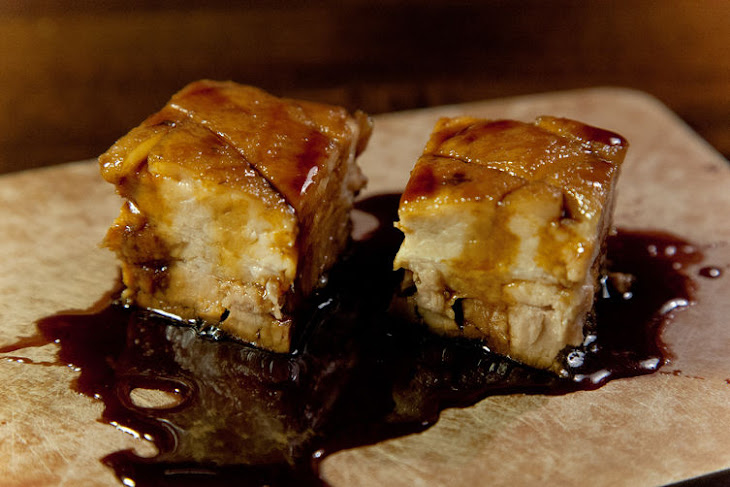 Guinness Lacquered Pork Belly Recipe