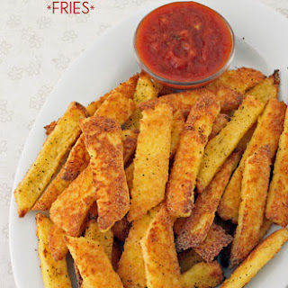 Baked Polenta Fries (Not-Potato Fries)