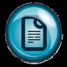 Dokument scanner icon