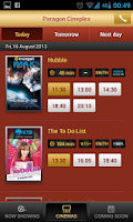 Screenshot of Major Movie Plus