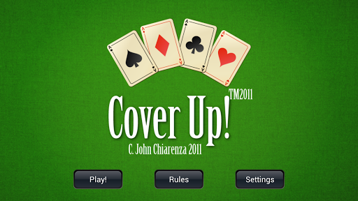 CoverUp the Card Game