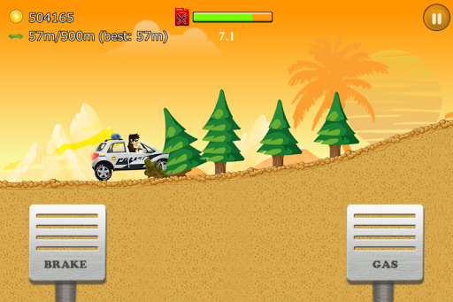 Up Hill Racing: Car Climb Spel (APK) gratis nedladdning för Android/PC/Windows screenshot