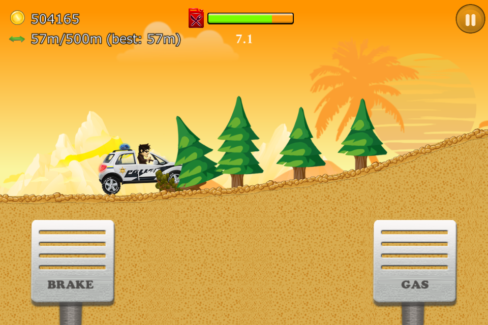 Up Hill Racing: Car Climb- screenshot