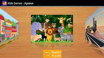 Screenshot of Kids Games - Jigsaw Puzzles