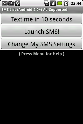 SMS Faker ™ (Ad Free)- screenshot