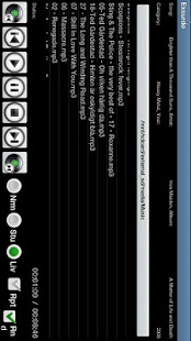 Exsurdo MP3-player - screenshot thumbnail