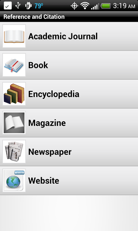 MLA Format in Text Citation Website
