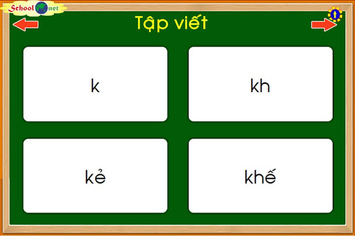 【免費教育App】Bài 20: chữ k, kh, vần kẻ, khế-APP點子