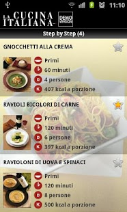 La Cucina Italiana - DEMO - screenshot thumbnail