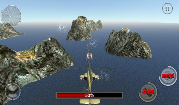Stealth Helicopter Gunship War screenshot