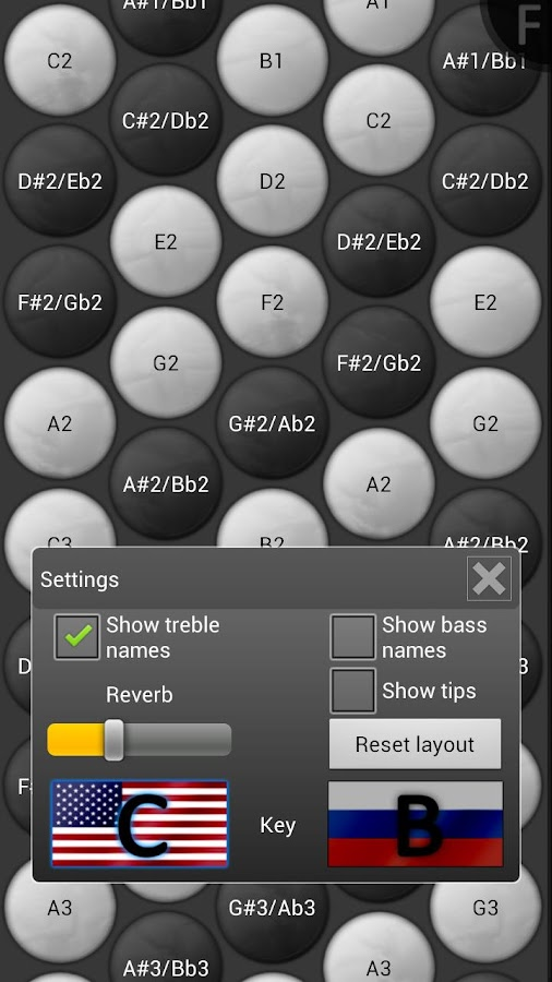 Button Accordion - screenshot