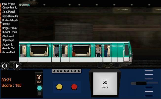 android Paris Métro Simulator Screenshot 7