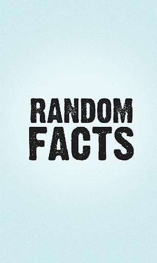 【免費教育App】Random Facts-APP點子