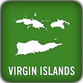 Virgin Islands GPS Map